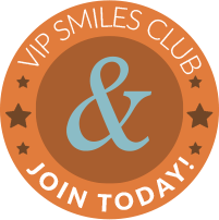 V I P Smiles Club badge