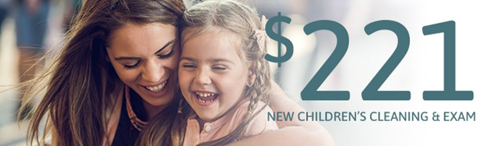 Children's dentistry special coupon